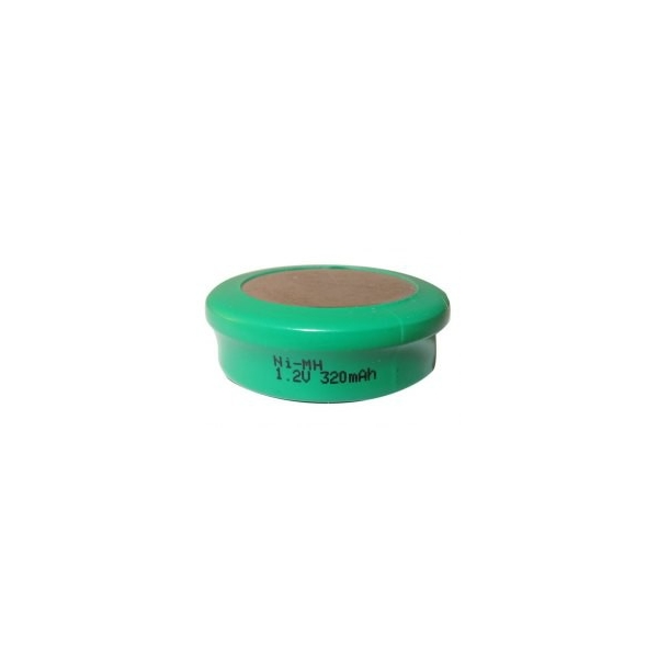 Pile bouton NiMH 320 mAh - 1,2V - Evergreen