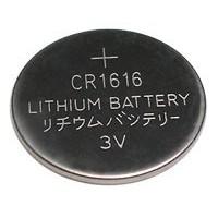 Pile bouton lithium CR1616 - 3V
