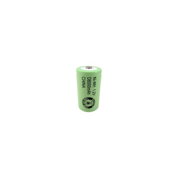 Pile LR20 / D rechargeable 8000 mAh - 1,2V - Evergreen