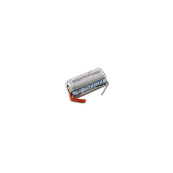 Pile NiMH Sub C 5000 mAh avec languettes - 1,2V - Tenergy