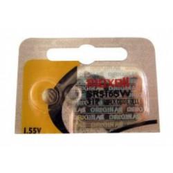 Pile bouton SR62 / SR516SW / 317 - 1,55V - oxyde d'argent - Maxell