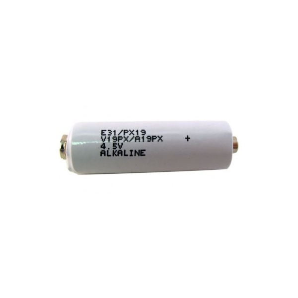 Pile alcaline 531 / PX19 / 3LR50 - Avec connecteurs - 4.5V