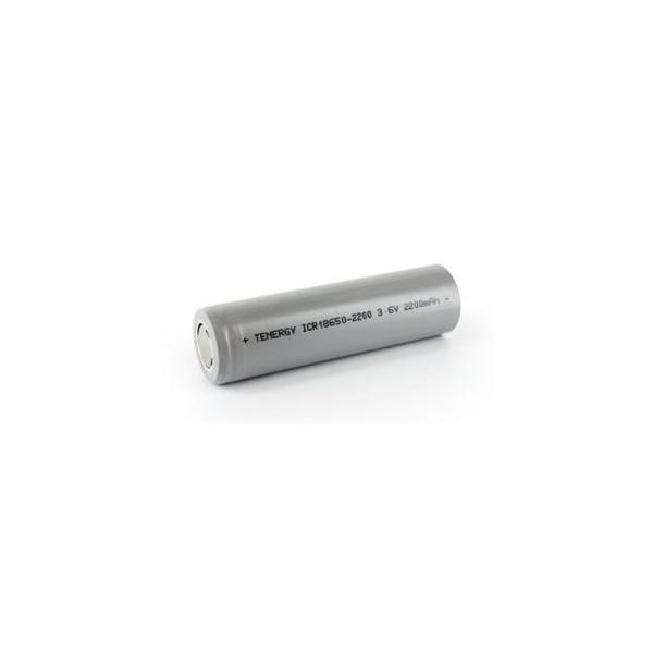 Pile rechargeable Li-Ion 18650 - 3,6V - 2200 mAh