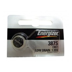 Pile bouton 387S / 387 - 1,55V - oxyde d'argent - Energizer