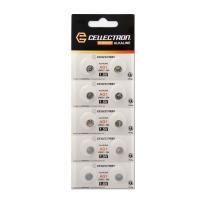 Cellectron Pack de 10 Piles Alcalines AG1 / LR60 / LR620 – 1,5V