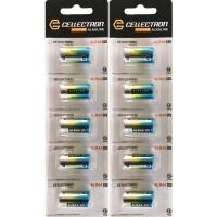 10 Piles alcaline 4LR44 / 476A - 6V