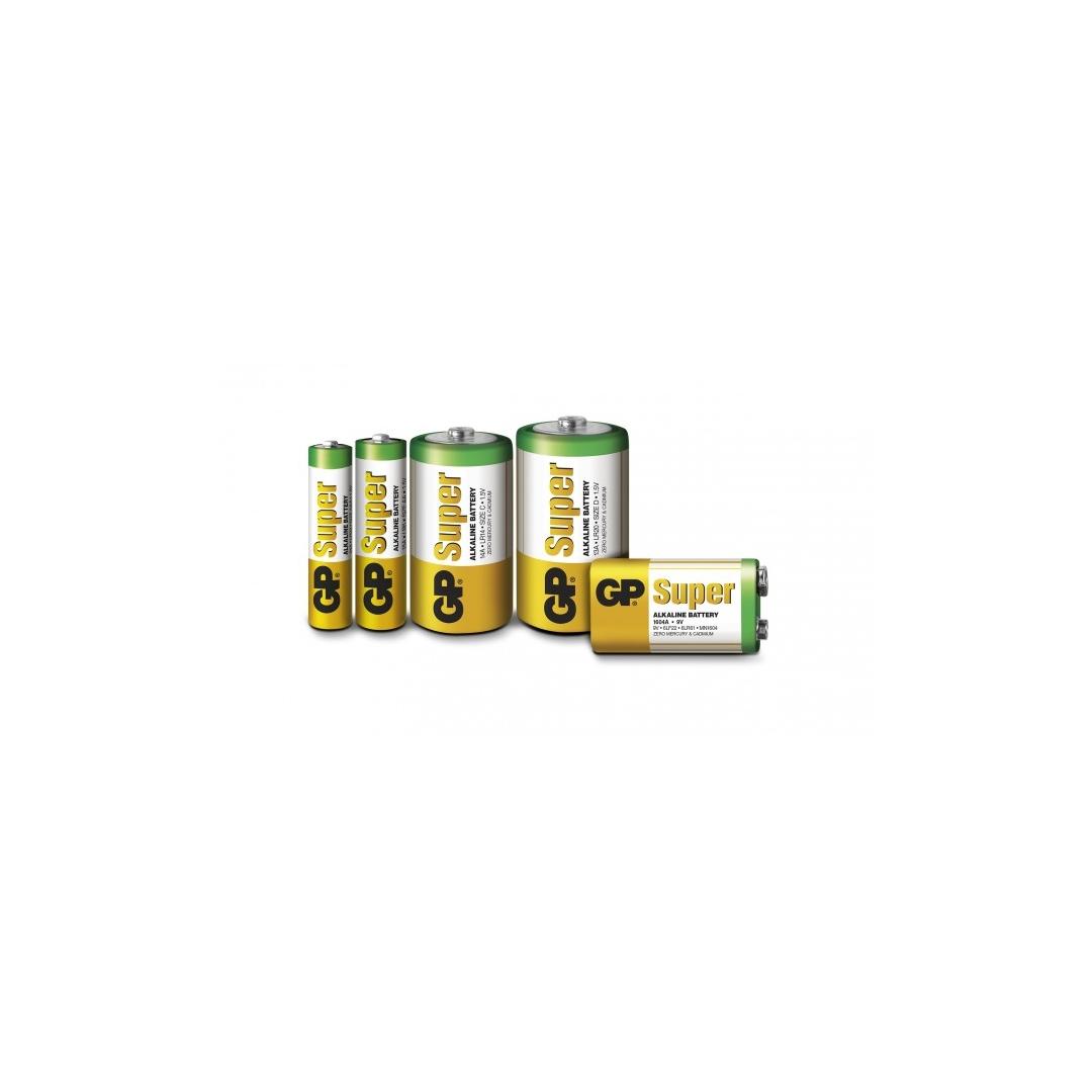 blister de 4 piles alcaline aa lr6 super gp battery. Black Bedroom Furniture Sets. Home Design Ideas