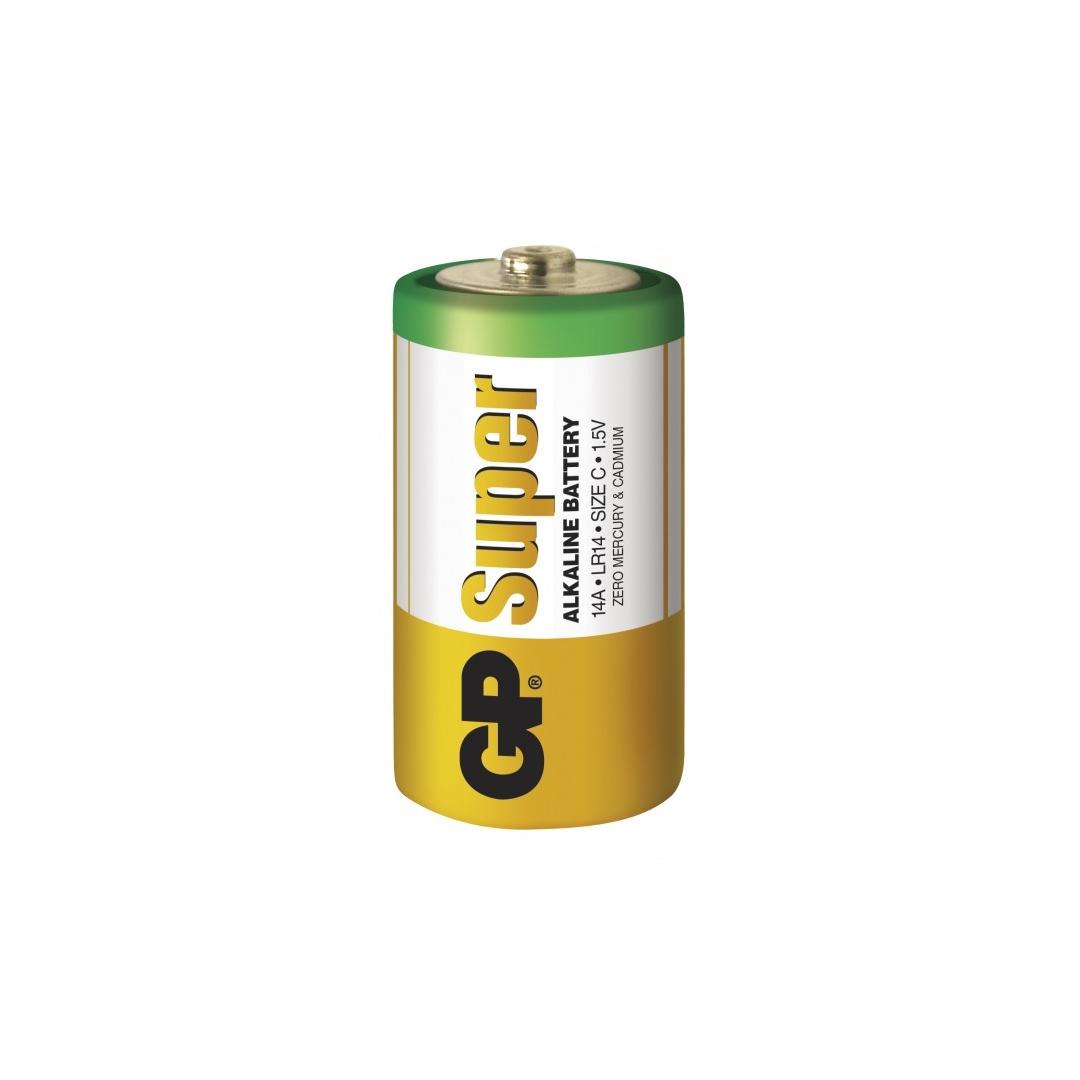 blister de 2 piles alcaline c lr14 super gp battery. Black Bedroom Furniture Sets. Home Design Ideas