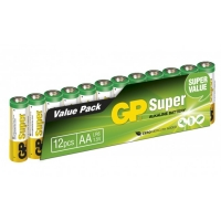 Film de 12 piles AA / LR6 SUPER - 1,5V - GP Battery