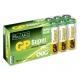 Boîte plexi de 16 piles alcaline AA / LR6 SUPER - 1,5V - GP Battery