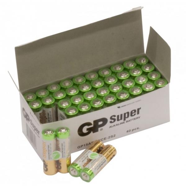 Film de 2 piles alcaline AA / LR6 SUPER - 1,5V - GP Battery