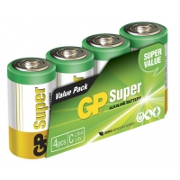 Film de 4 piles alcaline C / LR14 SUPER - 1,5V - GP Battery