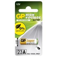 Carte de 1 pile alcaline 23AE / MN21 / VA23GA - 12V - GP Battery