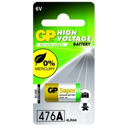 Blister de 1 pile GP 476A / 4LR44 / A544 / PX28A - 6V - GP Battery