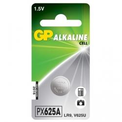 Blister de 1 pile bouton alcaline GP 625A / LR9 / V625U - 1,5V - GP Battery