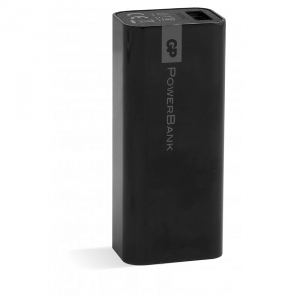 PowerBank Yolo GP 1C02A 2600mAh In 1A / Out 1A / Li-Ion, noir