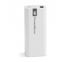 PowerBank Yolo GP 1C02A 2600mAh In 1A / Out 1A / Li-Ion, blanc