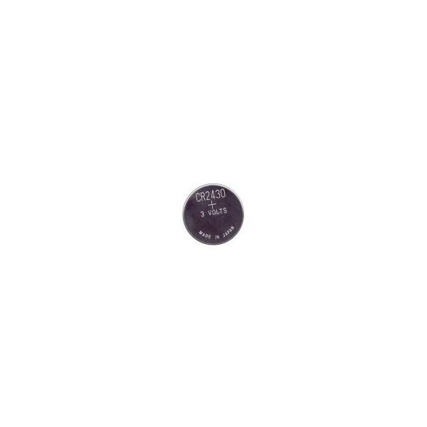 Pile bouton lithium CR2430 - 3V
