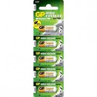 Carte de 5 pile alcaline 23AE / MN21 / VA23GA - 12V - GP Battery