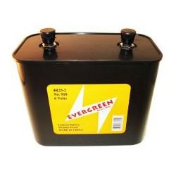 Pile alcaline 4R25-2 - 6V - Evergreen