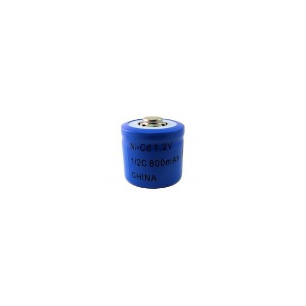 Pile NiCD 1/2 C 800 mAh - 1,2V - Evergreen