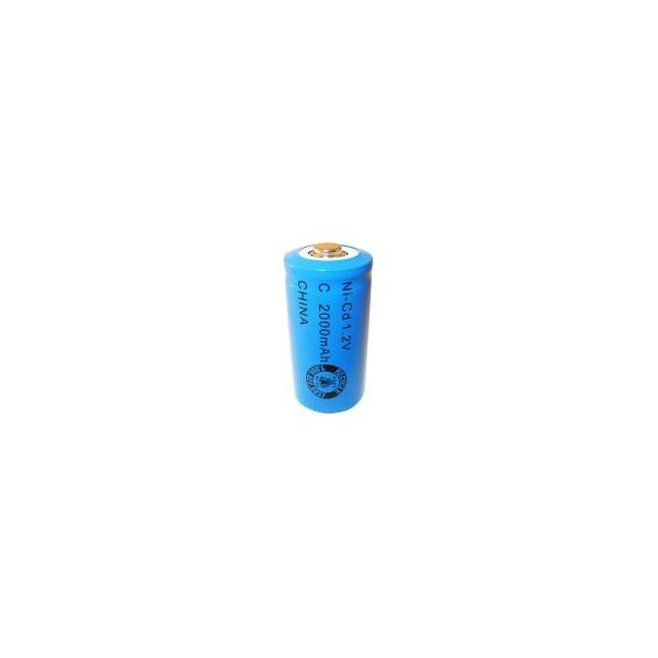 Pile NiCD C 2000 mAh - 1,2V - Evergreen
