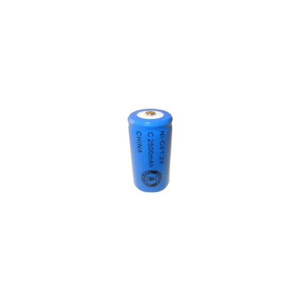 Pile NiCD C 2500 mAh - 1,2V - Evergreen
