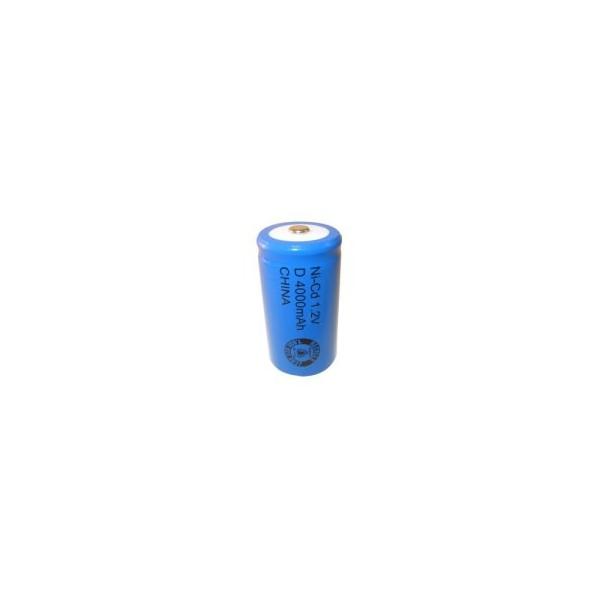 Pile NiCD D 4000 mAh - 1,2V - Evergreen
