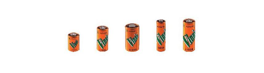 Autres piles alcalines (4LR44, 10, 11, 23, 27A, ...)