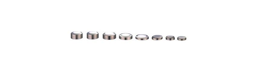 Piles bouton alcaline 1,5V - LR