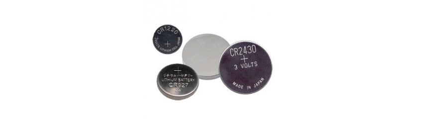 Piles bouton lithium 3V - CR