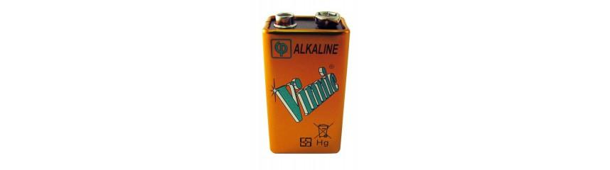 piles alcalines 6LR61 - 9V